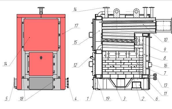 котлы твердотопливные ARS 100-1200 BM