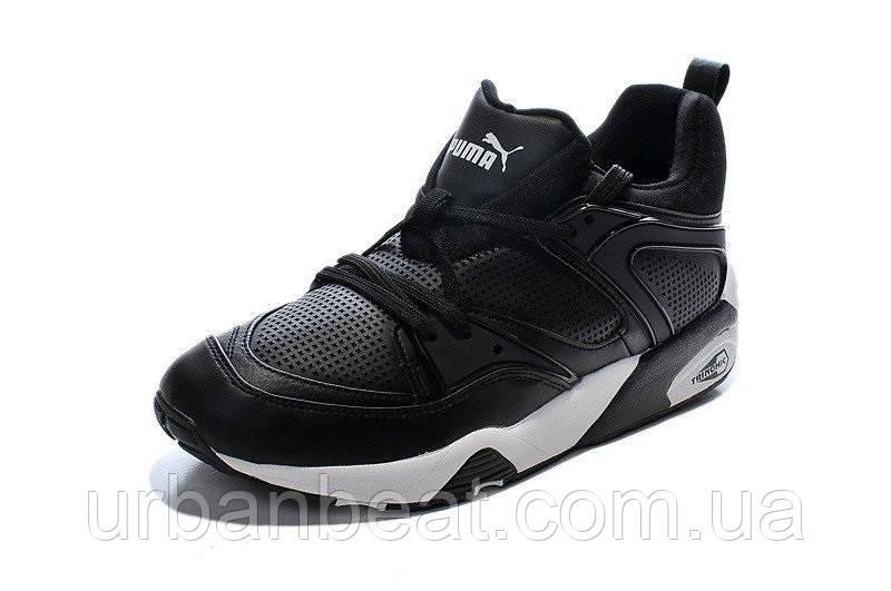 Мужские кроссовки Puma Blaze Of Glory Black Реплика , фото 1