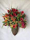 Подвеска ваза настенная для цветов, фото 3