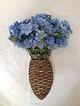 Подвеска ваза настенная для цветов, фото 5