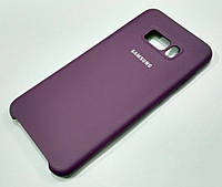 Чохол Silicone Case Cover Samsung Galaxy S8 Plus g955 пурпурний