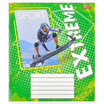 Тетрадь цветная 18 листов, клетка «Экстримальный спорт»              20 штук                 2752к, фото 2
