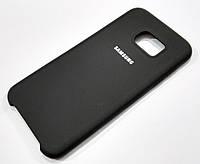 Чехол Silicone Case Cover для Samsung Galaxy S7 Edge g935 черный