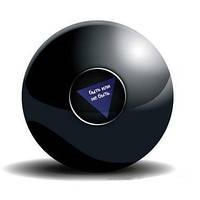 Магический шар для принятия решений 6 см