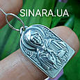 Серебряный кулон иконка Святая Матрона - Святая Матрона серебряная ладанка, фото 2