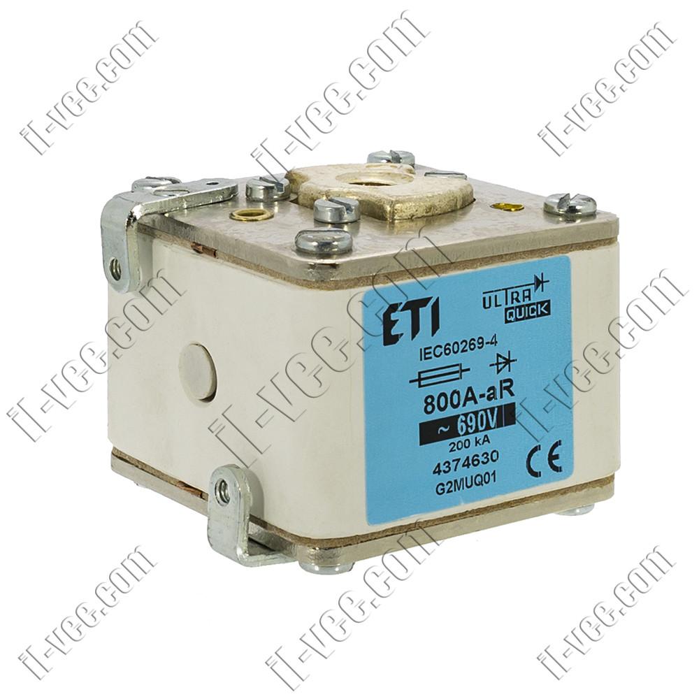 Запобіжник ETI G2MUQ01 800A-aR 690V Арт. 4374630