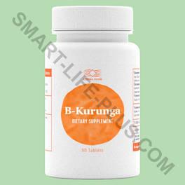 Би-Курунга (B-Kurunga) - пробиотик для лечения дисбактериоза и улучшения работы ЖКТ (на 90 таблеток)