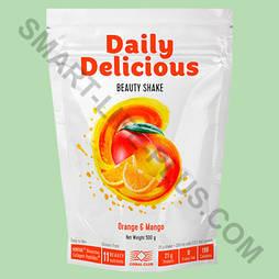 Daily Delicious (Дейли Делишес) Молочный шейк с коллагеном и белком - для кожи, похудения и стабилизации веса