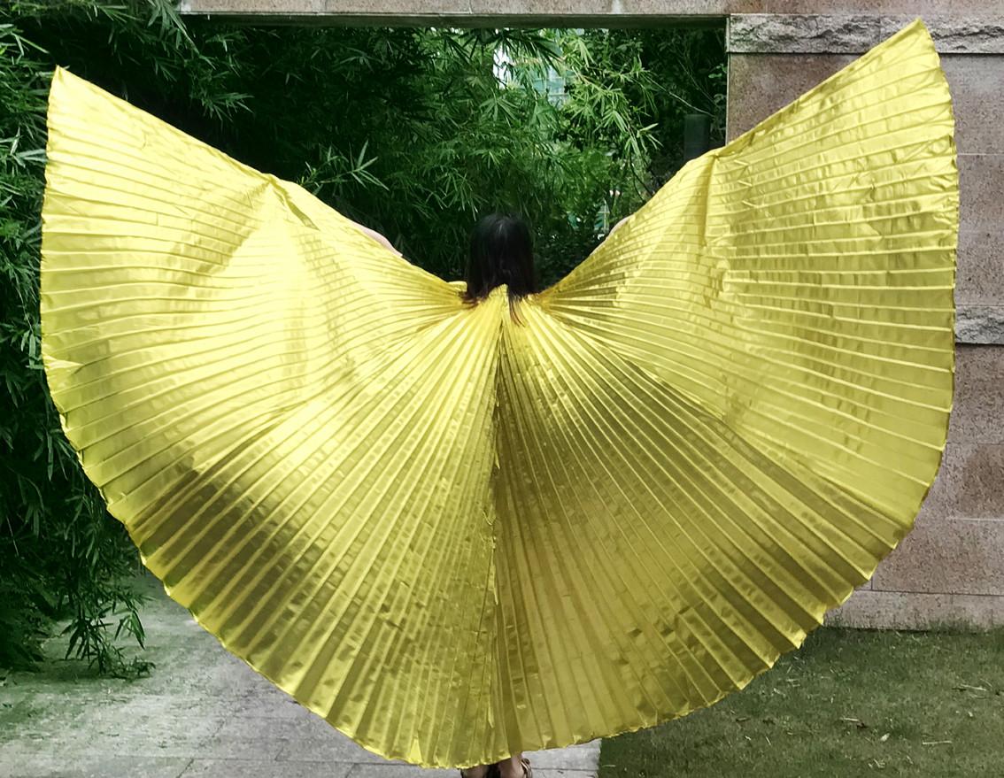 Красивые большие золотистые крылья. Крылья для вечеринки, шоу, танцев!