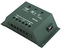 Контроллер 15А 12В/24В + USB гнездо (Модель-CM1524Z), JUTA