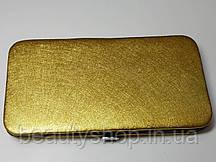 Чехол (пенал-книжка) на магните на 3 пинцета(Может вмещать и 6) Золотой