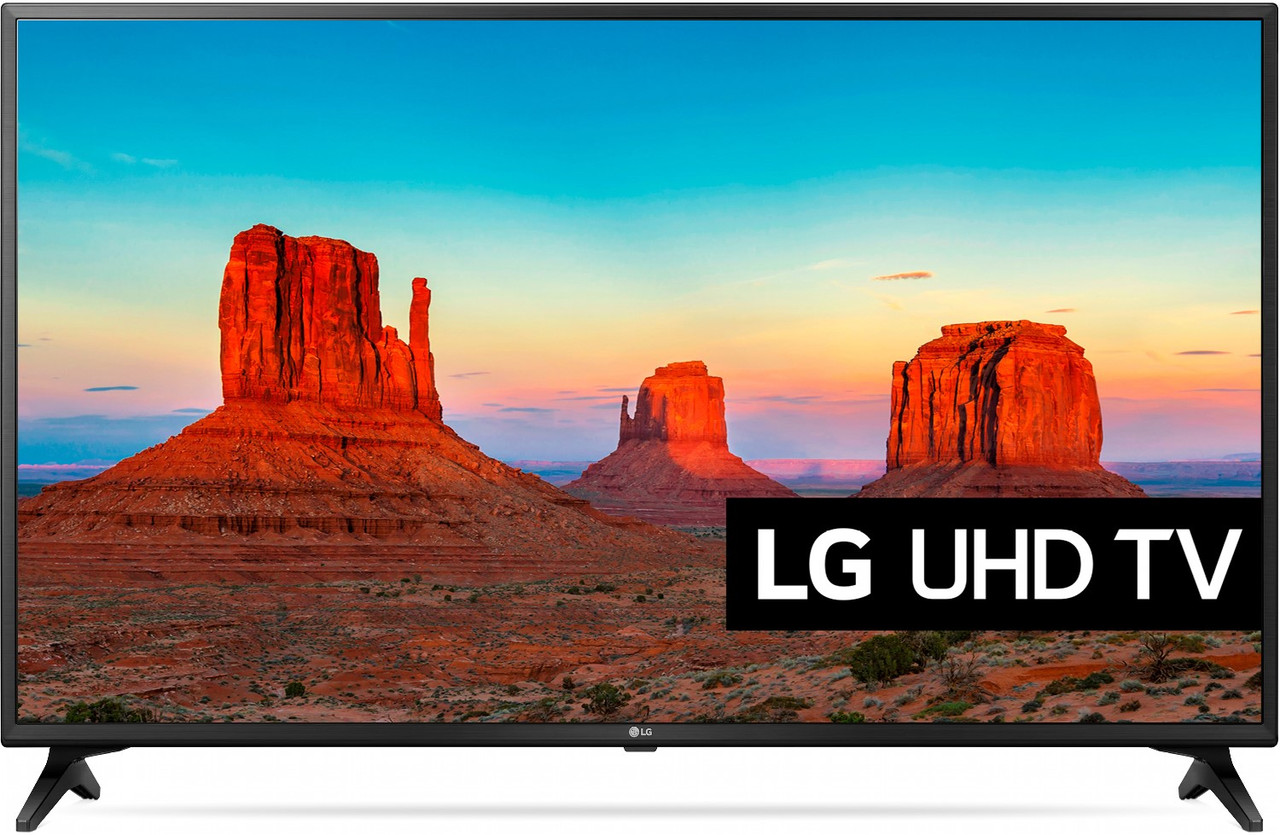 Телевизор LG 55UK6200 (PMI 1500Гц, 4K, Smart, IPS Panel, Quad Core, HDR10 PRO, HLG, Ultra Surround 2.0 20Вт)