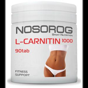 Жиросжигатель NOSOROG L-Carnitin 1000 90 tab