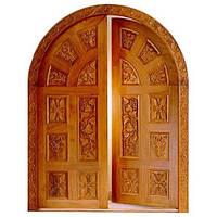 Дверь входная арочная