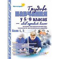 Трудовое обучение в 5-9 классах - обязательный блок. Блок 1, 3 (Мальчики)