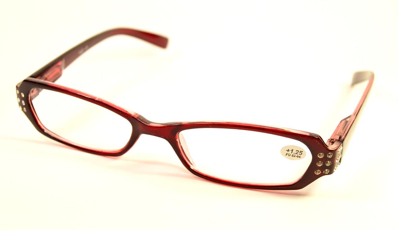 Женские очки для зрения (7007 бордо)