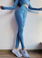 Спортивный костюм размер L  для фитнеса лосины+топ М4175