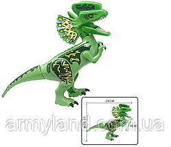 Динозавр Дилофозавр Конструктор, аналог Лего, фото 3