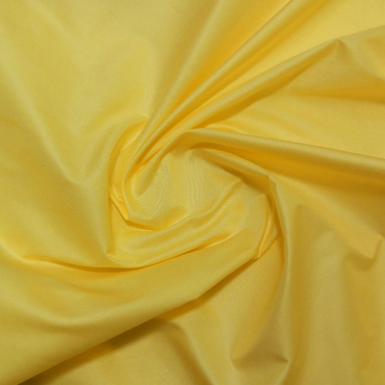 Плащевая ткань лаке желтая