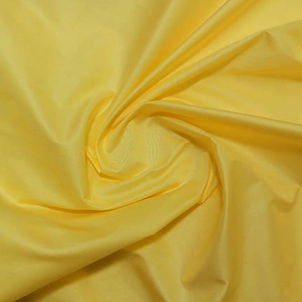 Плащевая ткань лаке желтая, фото 2