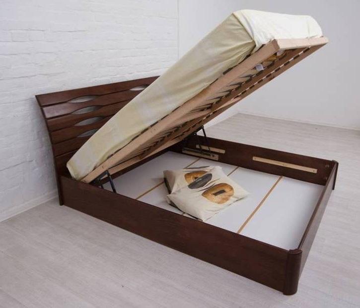 "Ліжко полуторне Олімп ""Маріта V з підйомним механізмом"" (140*200)"