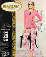 Женская пижама хлопок BARAY Турция размер M(44-46) 624