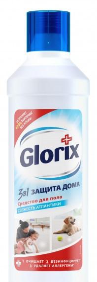 """Средство для мытья пола Glorix """"Лимонная энергия"""" 1 л"""