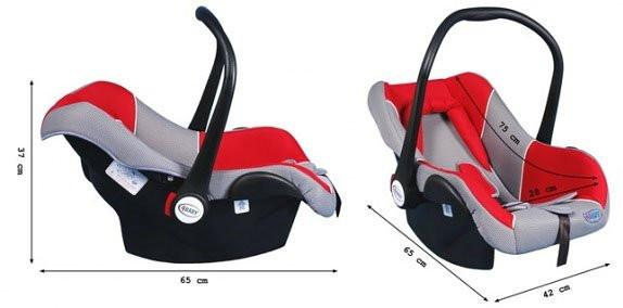 Автокрісло - для перевезення дитини 4BABY COLBY !