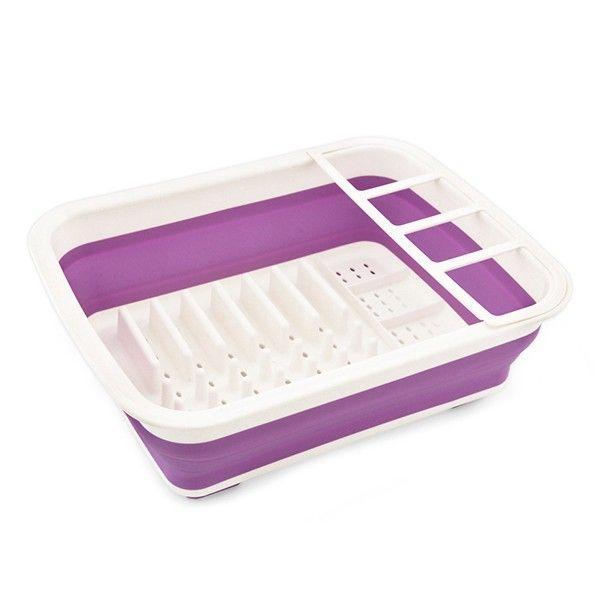 Сушилка для посуды Fissman складная 37 х 29 х 11 см (CV-8898.CR)