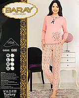 Женская пижама хлопок BARAY Турция размер L(46-48) 606