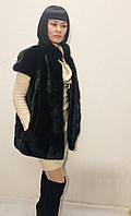 Жилет женский меховой натуральный из норки, фото 1