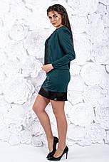Костюм двойка, платье и пиджак, №104, бутылка, 42-46р., фото 3