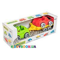 """Набор авто """"Kid cars Sport"""" 3шт. (кабриолет+гонка) Тигрес 39542"""