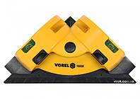 Уровень угловой лазерный VOREL для укладки плитки 190 х 135 мм, фото 1