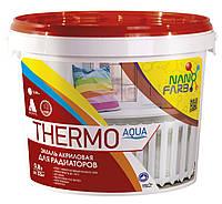 THERMO AQUA эмаль для радиаторов 0.8 л Нанофарб