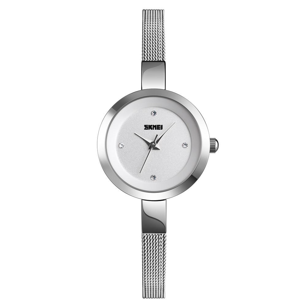 Skmei 1390 серебристые женские часы