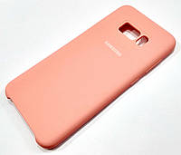 Чохол Silicone Case Cover Samsung Galaxy S8 Plus g955 рожевий