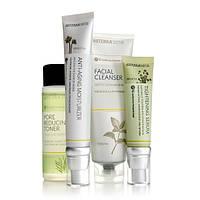 Essential Skin Care System With Anti-Aging Moisturizer/Уход за кожей Комплект с омолаживающим увлажнителем,4пр