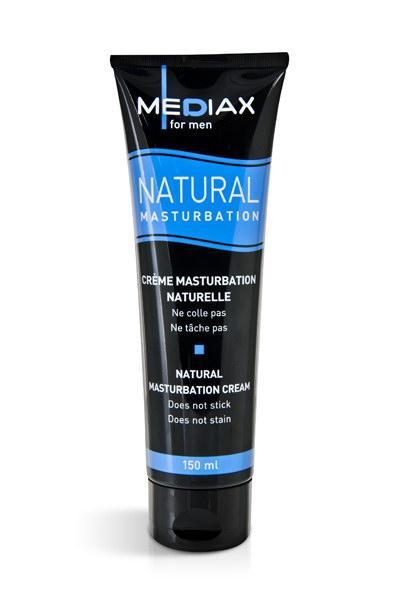 Крем для мастурбации Mediax for men natural masturbation, 150 мл