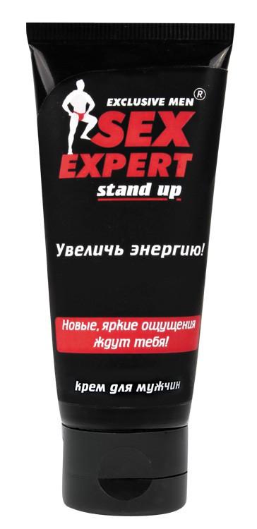 """Збудливий крем """"STAND UP"""" для чоловіків серії """"Sex Expert"""", 40 г"""