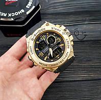 Мужские наручные часы  Casio G-Shock  GLG-1003 Золотой Копия, фото 3