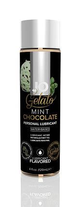 Лубрикант на водной основе System JO Gelato Mint Мятный шоколад, 120 мл , фото 2