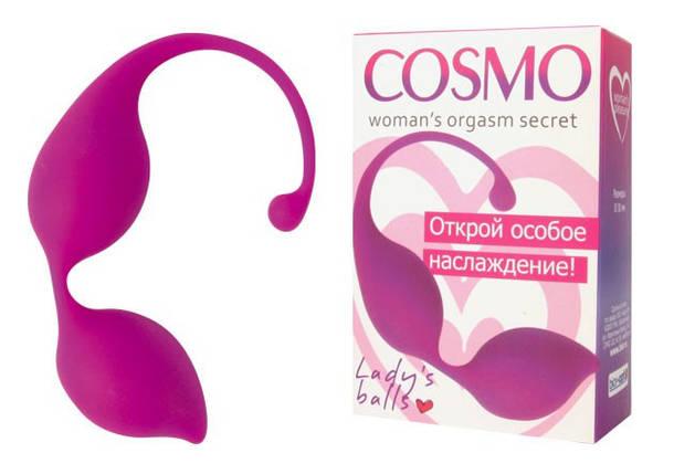 Вагинальные шарики Cosmo, 3 см , фото 2
