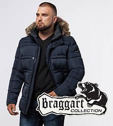 Braggart Titans 1365   Мужская куртка большого размера светло-синяя