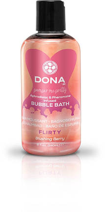 Пена для ванны Dona Bubble Bath Flirty Blushing Berry, 240 мл, фото 2