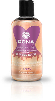 Пена для ванны Dona Bubble Bath Sassy Aroma Tropical Tease, 240 мл, фото 2