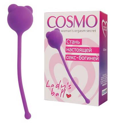 """Вагінальний кульку від Cosmo"""", 2,8 см, фото 2"""