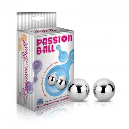 Вагинальные шарики Passion Dual Balls, 2 см , фото 2