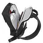 Сумка рюкзак черная, фото 8