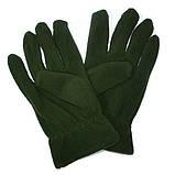 Флісові рукавички REIS зелені, фото 2